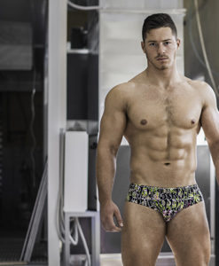 Our Sportive Brazilian Swim Briefs  Print. Made From a Mix of Poliamide and Lycra. Great Sexy Cut. Perfect Adjustment. Fit to Your Body Perfectly Thanks to Our Special Cut and Shape.