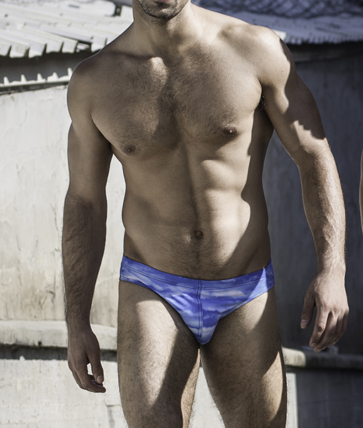 Sportive Blue Wave Swimwear Bikini Style. Made From a Mix of Poliamide and Lycra. Great Sexy Cut. Perfect Adjustment. Fit to Your Body Perfectly Thanks to Our Special Cut and Shape.