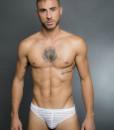 Egick Men Underwear - Sheer White Bikini Brief