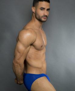 Egick Men Underwear - Body Building Posing Underwear Dark Blue