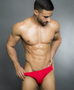 Egick Men Swimwear - Fire Red