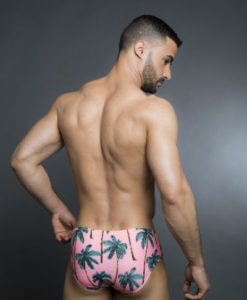 Wide Briefs Swimwear, Swimsuit With Great Prints For Summer At The Pool and Beach.