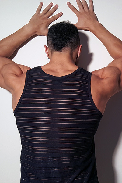 Egick Sportive Sexy Sheer Top/Singlet Made From Comfortable Strech Lycra With Great Sexy Shape. Perfect Adjustment. Fit to Your Body Perfectly. Thanks to Our Special Cut and Shape You Will Always Feel Amazing, Sexy And Sensual.